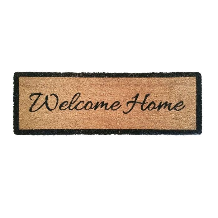 Kokosmatte Home Sweet Home 60x90 cm