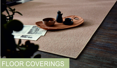 Floor Coverings / Border carpets / Natural fibres-polyester-polypropylene